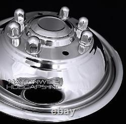 05-18 FORD F350 17 Dually Stainless Steel Wheel Simulators Dual Rim Liners Skin