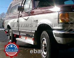 1987-1996 Ford F-150/250/350 Pickup Regular Cab Short Bed Rocker Panel Trim-6
