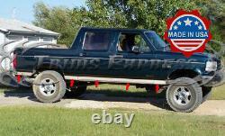 1987-1996 Ford F-150/F-250 Pickup Crew Cab Short Bed Rocker Panel Trim-3 12Pc
