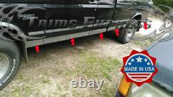 1987-1996 Ford F-Series Pickup Extended Cab Short Bed Rocker Panel Trim-3 10Pc