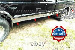 1987-1996 Ford F-Series Pickup Extended Cab Short Bed Rocker Panel Trim-6 10Pc