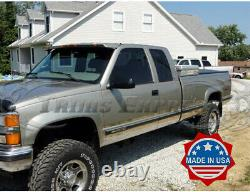 1988-1998 Chevy/GMC C/K Pickup Extended Cab Long Bed Rocker Panel Trim 6.25WithF
