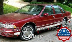 1991-1996 Chevy Caprice Rocker Panel Trim Body Side Molding FL 5.5 12Pc