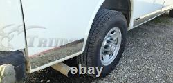 1995-2017 Chevy Express/GMC Savana EXT Cargo Van Rocker Panel Trim 8Pc 4 1/4