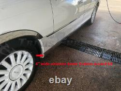 1998-2011 Lincoln Town Car Lower Rocker Panel Body Side Trim Molding Accent 8Pc