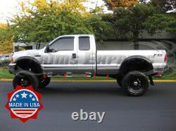 1999-2010 Ford Super Duty/F-250 Extended Cab Long Bed Rocker Panel Trim 6 12Pc