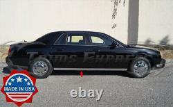 2000-2005 Cadillac DeVille Chrome Rocker Panel Trim Extreme Lower Overlay 2.5