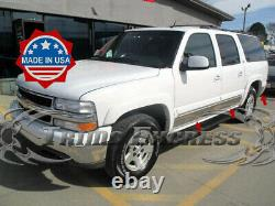 2000-2006 Chevy Suburban withFlare Rocker Panel Trim Stainless Steel 6 10Pc