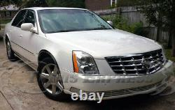 2000-2011 Cadillac DeVille/DTS Stainless Rocker Panel Trim Side Molding 8Pc 6