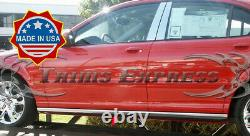 2002-2009 Jaguar X-Type Extreme Lower Rocker Panel Trim Body Side Molding 4 2Pc