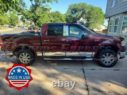 2004-2008 Ford F-150 Crew Cab 5.5' Short Bed withF Rocker Panel Trim 12Pc 7