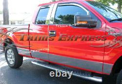 2004-2008 Ford F-150 Super/Extended Cab Rocker Panel Trim 7 -CHOOSE ONE BELOW