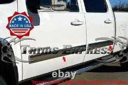 2007-2008 Silverado Crew Cab Body Side Molding Overlay Trim Cover 4 1/4