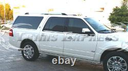 2007-2017 Ford Expedition EL withKeypad Cutout 6Pc Chrome Window Sill Trim Accent