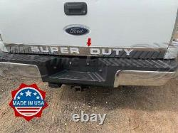 2008-2016 Super Duty/F-250 Tailgate Trim Molding Outline SUPERDUTY Stainless