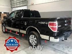 2009-2014 Ford F-150 Super/Extended Cab 6.5' Short Bed N/F Rocker Panel Trim 7