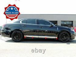 2009-2016 Lincoln MKS Lower Rocker Panel Body Side Trim Molding Accent 2.5 8Pc