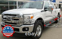 2011-2016 Ford F-250/F-350 Crew Cab Short Bed Rocker Panel Trim Cover 6 12Pc