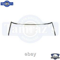 68-72 GM A Body Front Windshield Trim Reveal Molding Polished Stainless Steel