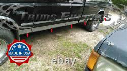 87-96 Ford F-Series Pickup Extended/Super Cab Long Bed Rocker Panel Trim 3 10Pc