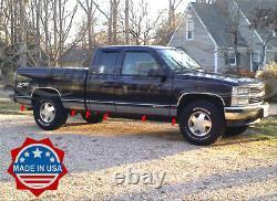 96-98 Chevy/GMC C/K Pickup 3Dr Extended Cab Short Bed Rocker Panel Trim 6.25N/F