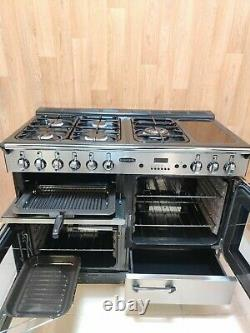 All Gas Rangemaster Professional 110cm Range Cooker In Stainless Steel. Ref-a131