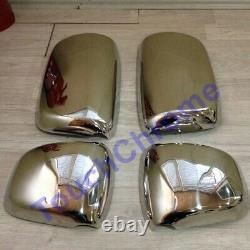 DAF XF 95 105 Chrome Wing Mirror Cover Set 4Pieces Stainless Steel