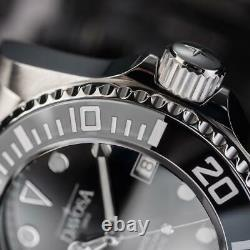 Davosa Automatic Ternos Professional TT Stainless Steel Black Face Wrist Watch
