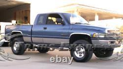 Fit1994-1997 Dodge Ram Extended Cab Short Bed Rocker Panel Trim 8 1/2 10Pc