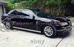 Fit2011-2020 Chrysler 300 300C 4Pc Extreme Lower Rocker Panel Trim 4