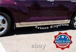 Fit 2000-2009 Chrysler PT Cruiser 4Dr Rocker Panel Trim Cover 5 10Pc