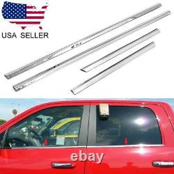 For 2005-2015 Nissan Armada Stainless Steel Chrome Window Door Sill Trims