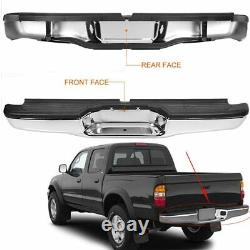 For 95-04 Toyota Tacoma Chrome Stainless Steel Rear Step Bumper Replacement