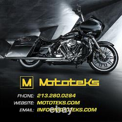 Harley Fat Spoke Wheel 16x3.5 Front & Rear Fat 40 Touring Bagger Stainless Spoke