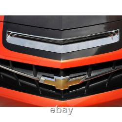 Hood Vent Insert for 2010-2013 Chevy Camaro SS Stainless Steel/Polished