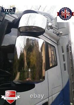 Iveco Stralis Truck Chrome Wing Mirror Cover 4Pieces Stainless Steel
