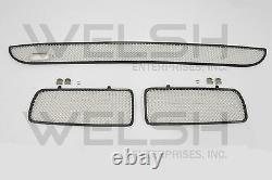 Jaguar XJ6 (95-97) Stainless Steel Mesh Grille Kit BEC-19907-S, HNA-5502-EA-PR