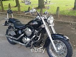 Kawasaki VN800 Vulcan Classic Stainless steel crash bar engine guard with pegs