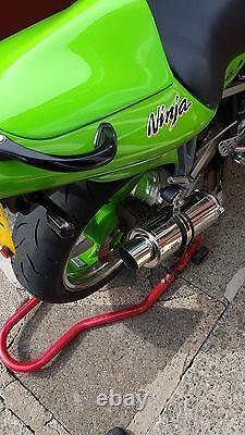 Kawasaki ZX6R G J A1P 98-02 ZX636 Polished Stainless GP PRO RACE MTC Exhaust