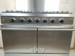 Lacanche 100 CM Dual Fuel Range Cooker In Stainless Steel & Splashback. Ref-a24
