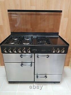 Lpg Rangemaster 110 CM Range Cooker In Stainless Steel. Ref-c2