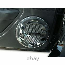 Mustang Style Speaker Grille Kit for 2005-2009 Ford Mustang Stainless/Polished