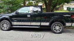 Premium Rocker Panel Trim 09-2014 Ford F-150 Super Cab 6.5' Short Bed WF 7 1/4