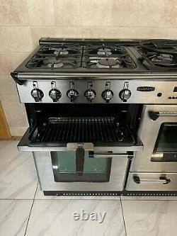 Rangemaster Professional 110cm Dual Fuel Range Cooker In Stainless Steel. Ref-k8