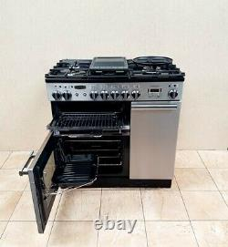 Rangemaster Professional 90cm In Stainless Steel And Chrome