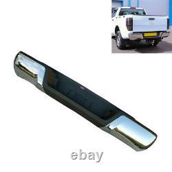 Rear Step Bumper in Stainless Steel Chrome for Ford Ranger 2012+