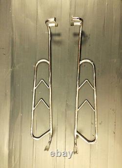 Rear & side crash'Florida' bars stainless steel for Lambretta series 2