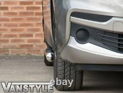 Renault Trafic 2014+ 76mm 3 Step Swb Side Bars Stainless Steel Chrome Steps Rhd