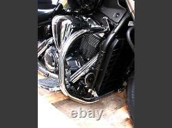 S Yamaha Midnight Star Vstar XVS 1300 Stainless Highway Crash Bar Engine Guard
