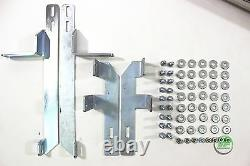 Side bars CHROME stainless steel side step for Suzuki Grand Vitara mk2 5 door